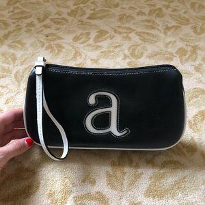 Handbags - Black A Clutch